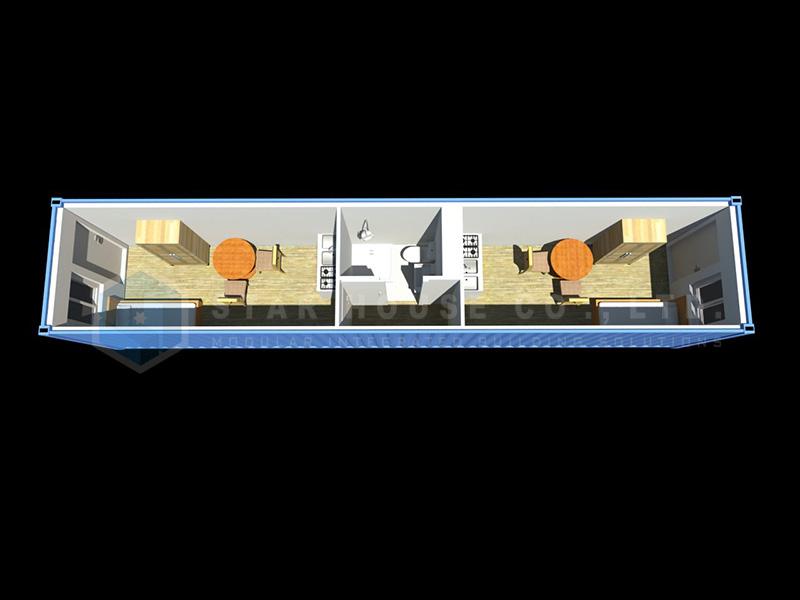 8 x 40フィートの学士単位モデルMC-4002